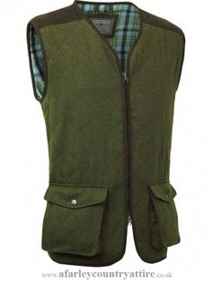 858bc9e8c34a Alan Paine - Stamford Gents Shooting Quilted Waistcoat - Olive Green -  Available to buy online