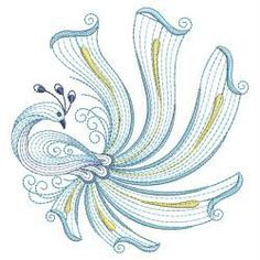 Rippled Peacocks 15(Sm) machine embroidery designs