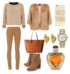 """."" by dashakudinova on Polyvore featuring AG Adriano Goldschmied, River Island, Pinko, Nine West, MICHAEL Michael Kors, Sonix, Rolex, StrangeFruit and Victoria's Secret"
