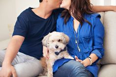 Incorporate your pet into your engagement session