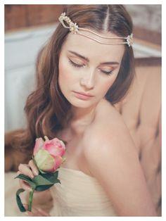 Eugenia headpiece by Jannie Baltzer