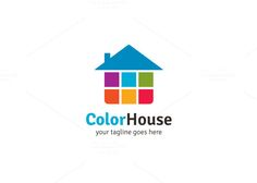 Color House Logo by XpertgraphicD on Creative Market