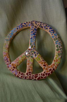 Simbolo de la Paz multicolor