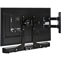 bracket for mounting a sound bar to a TV..