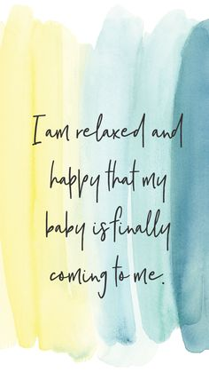 I absolutely love positive affirmations - whether they're used to center yourself around your pregnancy and birth, or just in everyday life. Pregnancy Affirmations, Birth Affirmations, Pregnancy Labor, Pregnancy Quotes, Calm Birth, Birth Quotes, Pregnancy Positions, Birth Doula, Natural Birth