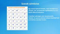 Ingyenes játékos feladatok Periodic Table, Diagram, Periodic Table Chart, Periotic Table