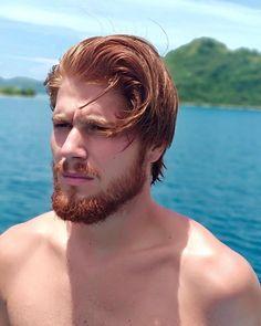 Hot Ginger Men, Ginger Beard, Ginger Hair, Ginger Guys, Beautiful Men Faces, Gorgeous Men, Redhead Men, Great Beards, Beard Lover