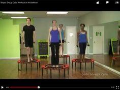 Mini trampoline 35 mins exercise - Fayth Caruso