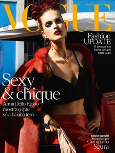 Mirte Maas - Vogue Magazine Cover [Brazil] (3 February 2013)