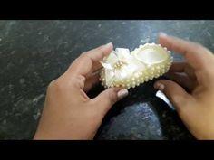 (319) Sapatinho de crochê com pérolas parte 01 - YouTube