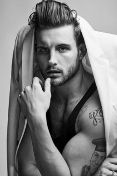 Nico Tortorella requested by Jaxx. Male Fitness Models, Male Models, Boy Poses, Img Models, Male Beauty, Bearded Men, Sexy Men, Sexy Guys, Beautiful Men