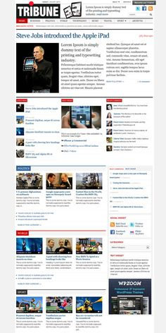 daily headlines premium wordpress theme by wpzoom