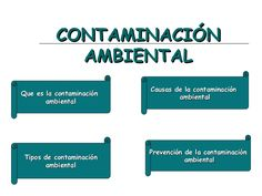 Diapositiva Contaminacion Ambiental by guillermo leon via slideshare