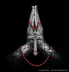 Red rosary, think Ima get this but where tho??/