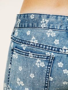 Free People Ditsy Floral Ankle Crop at Free People Clothing Boutique