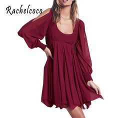 Rachelcoco 2016 New Spring Women Vintage Bohemian Dress Long Lantern Sleeve O Collar Backless Chiffon Vestidos Womens 3 Colors-in Dresses from Women's Clothing & Accessories on Aliexpress.com | Alibaba Group