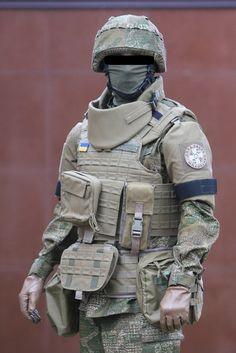 Потенциальная экипировка солдата ВСУ. Окончательный вариант еще не одобрен, проходит экспериментльная носка