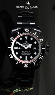Rolex Deep Sea Black out - almost a bit ice watch like... But a good start ;-)
