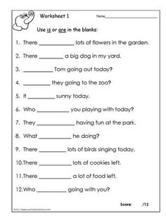 Use Then or Than Worksheet 2- Students must decide between ...