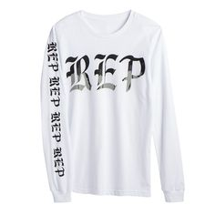 """Taylor's upcoming album """"reputation"""" hits stores Nov 10th. Pre-order Official Merchandise now at https://store.taylorswift.com/white-long-sleeve-tee-406.html"""