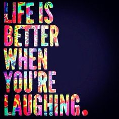 Make time for laughter…. #positivethinking #quote #happiness www.aphroditesworld.com