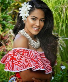 Miss Tonga.. Shes part British/Tongan/Samoan