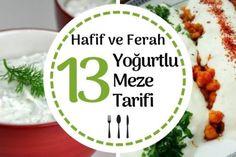 Yoğurtlu Meze Tarifleri: Pratik, Leziz ve Ferah 13 Resimli Tarif Tarifi