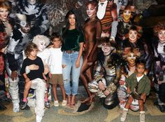 Kourtney Kardashian, Mason Disick, North West & Penelope Disick from The Big Picture: Today's Hot Pics  Family fun night! The group came out to see Leona Lewis perform in Cats on Broadway in NYC.