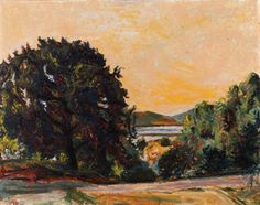 Henrik Sørensen - Eika, Holmsbu, 1913 Edvard Munch, Norway, Google, Painting, Art, Egg, Art Background, Painting Art, Kunst