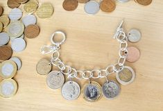 Coin Bracelet | 19 DIY Projects For The Travel Obsessed