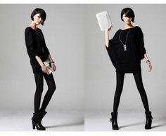 SKU: YM0236801%0D%0ASpecification%0D%0AColor: BLACK%0D%0ACategory: Women's Clothing » Women's Dresses » Casual Dresses%0D%0A%0D%0AProduct Info:%0D%0A%0D%0AMaterial :  Modal Cotton  %0D%0A%0D%0ASize : Free Size  %0D%0A%0D%0ALength :  80CM  %0D%0A%0D%0AColor : Black %0D%0A%0D%0AAccessories :  None  %0D%0A%0D%0AWeight :  0.5KG  %0D%0A