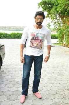 Rana Daggubati Casual Work Attire, Casual Wear, Telugu Movies Download, Rana Daggubati, Hot Hunks, South India, Indian Celebrities, Man Crush, Bollywood