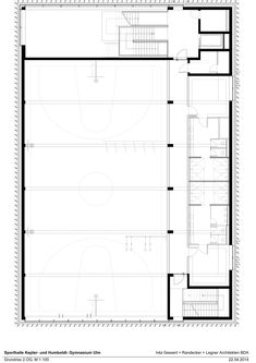 h4a architekten, Sporthalle Ulm