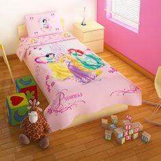 Een passend dekbedovertrek maakt de kamer helemaal af! #prinsessenkamer