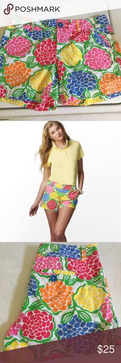 4267d7ecbad46 Lilly Pulitzer Callahan shorts EUC Lilly Pulitzer Callahan