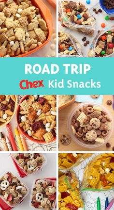 Need an easy road trip snack for kids that you can feel good about? Try one of our Chex™ trail mix recipes for a grab-and-go, sweet and salty snack that your kids will love as much as you!