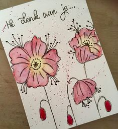 Birthday drawing card coloring pages ideas Birthday Quotes, Girl Birthday, Birthday Cards, Kids Art Class, Art For Kids, Birthday Pictures, Watercolor Cards, Mail Art, Baby Cards