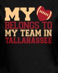 Yes! I Love My Seminoles! Go FSU!