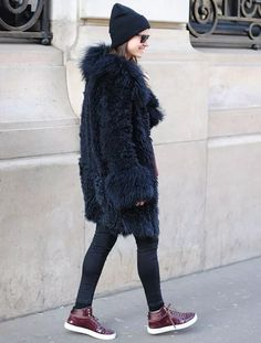 faux-fur-coat-beanie-street-style-steal-the-look