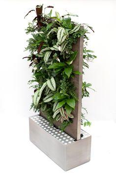 Vertiplant Mobile verticaal tuinieren binnen kantoor beplanting. www.vertiplant.nl www.facebook.com/verti-plant