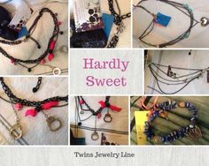 Made by  Hardly Sweet twins jewelry line ❤️