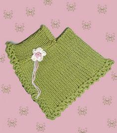 #Poncho for the American Girl Doll -- a machine knit pattern  2dayslook Poncho  #2dayslook #Poncho #sunayildirim #ramirez701  www.2dayslook.com