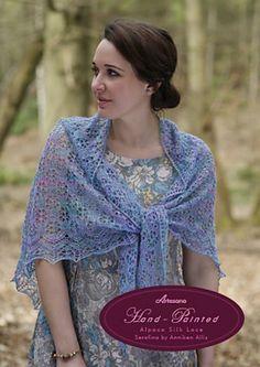 Serafina Lace Shawl by Anniken Allis Free pattern: http://www.ravelry.com/download/466248/free