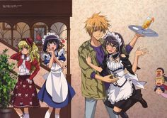 Kaichou wa Maid-sama // Ayuzawa Misaki & Usui Takumi this is literally the entire show. Description from pinterest.com. I searched for this on bing.com/images