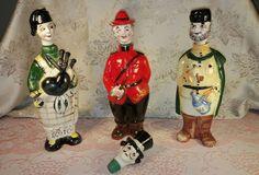 RareVtg Arnart Creations Liquor Decanters 3/Extr head,#5329,Japan 1950's,V.G.C!! | Collectibles, Barware, Decanters | eBay!