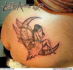 Tatouages Fée | Mignon, mal, petits dessins de tatouage de fée et des idées
