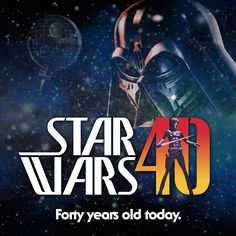 Checkout the new logo @endocott whipped up to celebrate 40th Anniversary of Star Wars! #sw40thanniversary