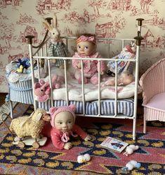 Reborn, Doll Maker, Miniature Dolls, Cot, Toddler Bed, Miniatures, Nursery, Instagram Posts, Baby