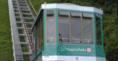 After being closed for renovations the new and improved Falls Incline Railway officially opens today.