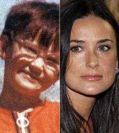 Then & Now: Demi Moore